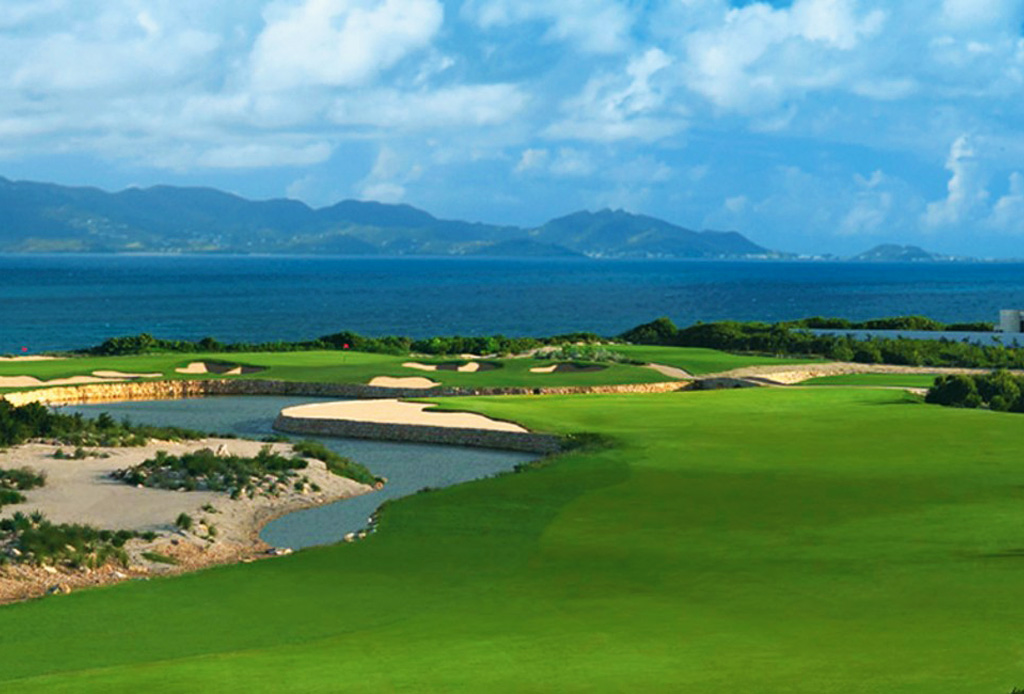 golf on anguilla