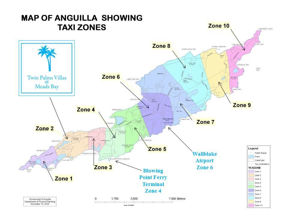 Anguilla taxi service 2018-2019