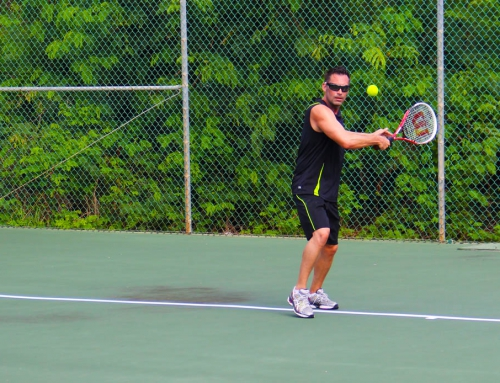 Tennis on Anguilla