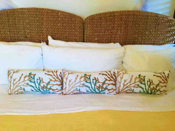 Beach Guest Bedroom Pillows