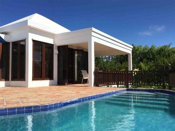 Beach Palm Pool Steps