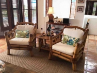 Coconut Palm Living Room Chairs