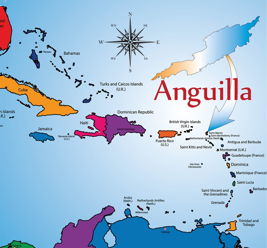 Caribbean Islands: Anguilla Travel Tips-Anguilla Departure Taxes-Anguilla