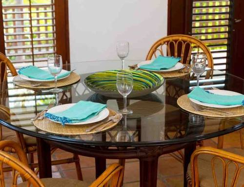 Beach Palm Villa Dining Room