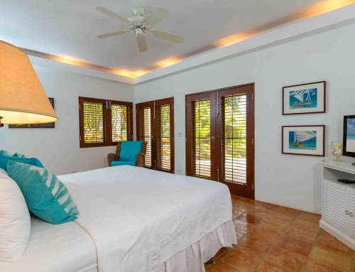 Beach Palm Villa Garden Master Suite
