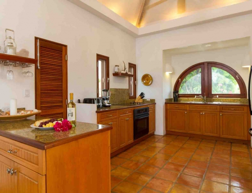Beach Palm Villa Kitchen