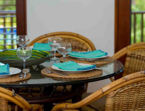 Coconut Palm Villa Dining Room