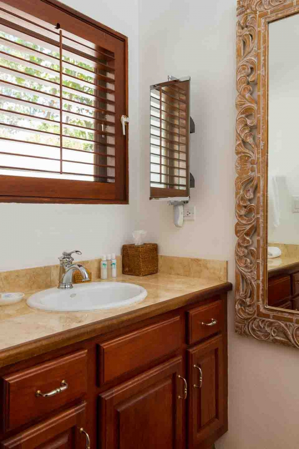 Coconut Palm Guest Bathroom Vanity