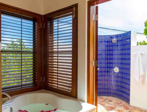 Coconut Palm Villa Poolside Master Bathroom