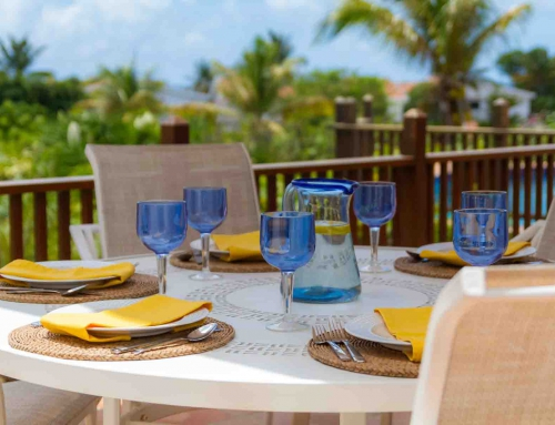 Coconut Palm Villa Outdoor Dining