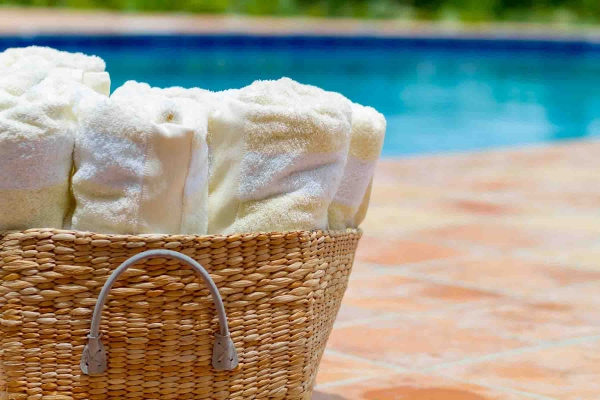 Twin Palms Poolside Towels