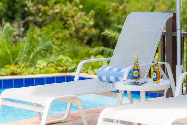 Twin Palms Poolside Lounger